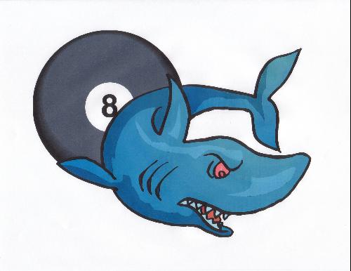 snooker's shark