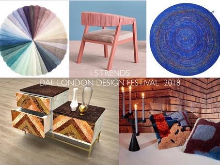 A cortiça nas 5 tendências da London Design Fair 2018