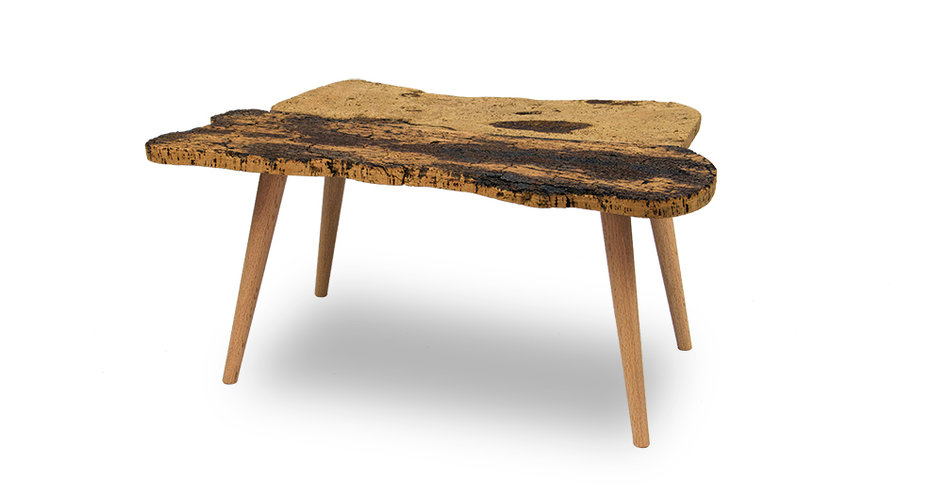 corkwood table/coffee table UNIONE mesa