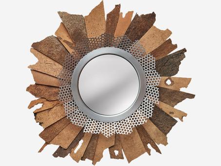 Espelho decorativo para interiores modernos