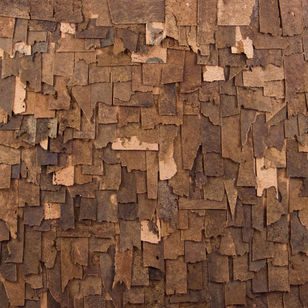 revestimento ecologico Scales Brown wall coverings