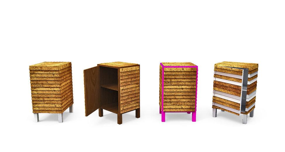 variations perspective furniture TALPA armário de apoio cabeceira quarto sala