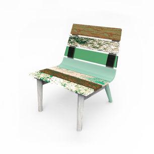 cadeira em cortiça pura CHAIRING pure corkwood chair