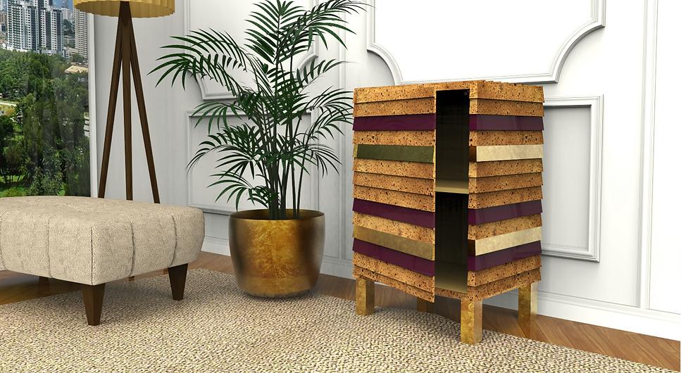 ambiente perspective furniture TALPA armário de apoio cabeceira quarto sala