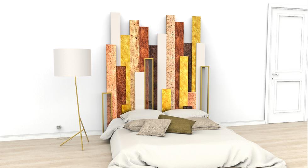 ambiente cabeceira de cama Urbem decoração