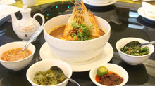 Big Prawn Mee Soup promotion at Dynasty Restaurant