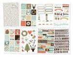 Winter Wonderland 4x6 Sticker Set