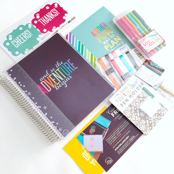 New 2015-2016 Erin Condren Life Planner Lookbook and Review