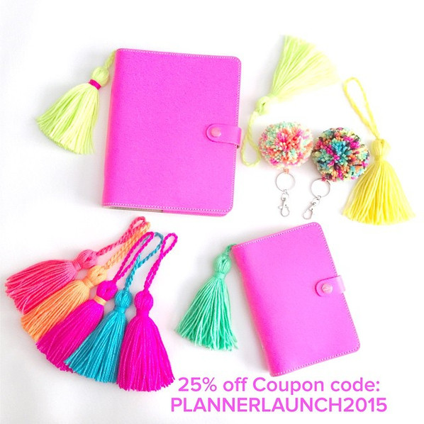 Planner Tassels and Pom Pom Sale!