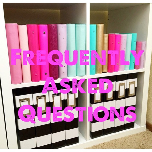 My Most Frequently Asked Questions