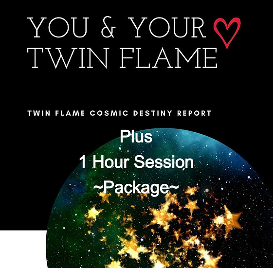Twin Flame Cosmic Destiny Report & Coaching Session