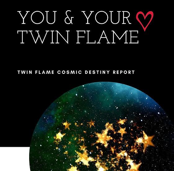 Twin Flame Cosmic Destiny Report