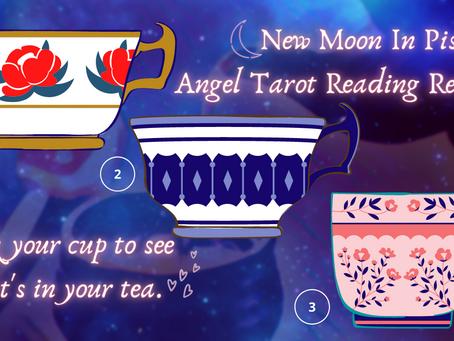 🔮Twin Flame New Moon Romance & Tea: Pick Your Tea Cup 💞 Angel Tarot Reading Reveal