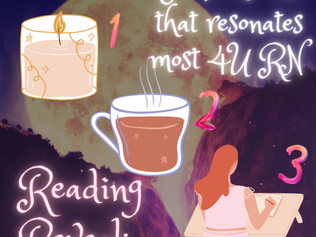 Full Blue Moon Reading Reveal: Romancing Yourself