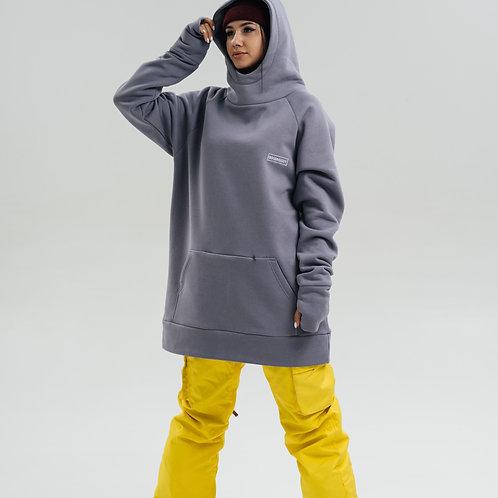 Snowboard Hoodie Pearl