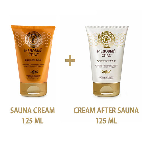 Natural Honey Cream - For & After the Sauna - Enhances the Wellness Effect