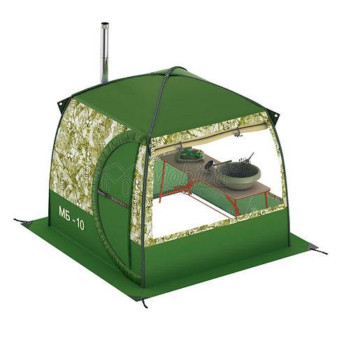 Portable Mobile Sauna Tent Mobiba MB-10A with 2 Windows (3-4 pers.)