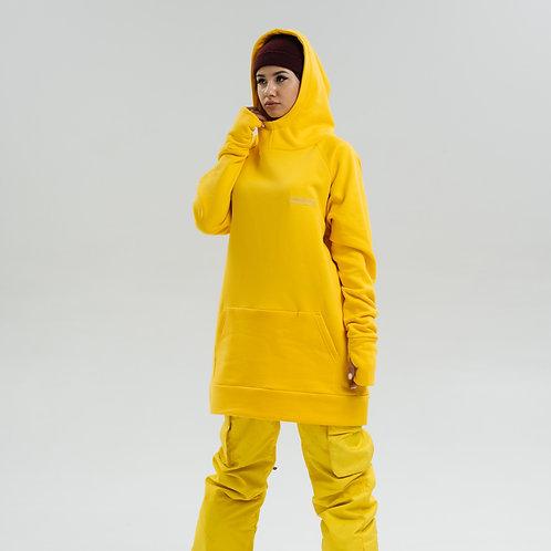 Snowboard Hoodie Banana
