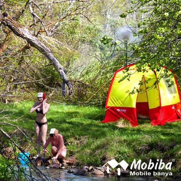 Mobiba - SPA sauna