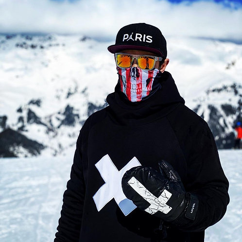 Snowboard Hoodie X White Cross X