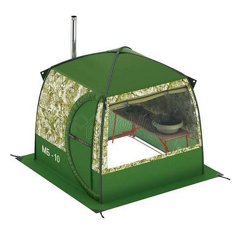 Portable Mobile Sauna Tent Mobiba MB-10A with a Window (3-4 pers.)
