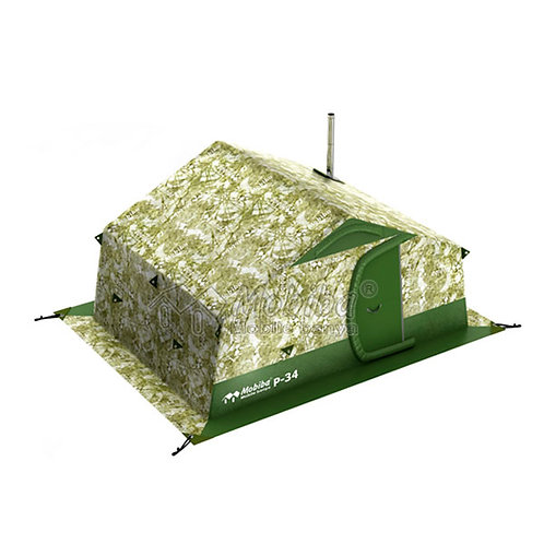 Portable Double-Layered Expedition Tent Mobiba R-34