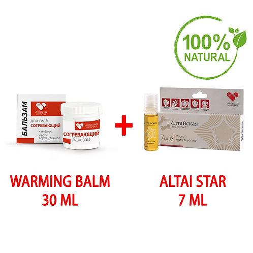 """Set """"Home First Aid Kit"""" (Warming Balm + Altai Star)"""