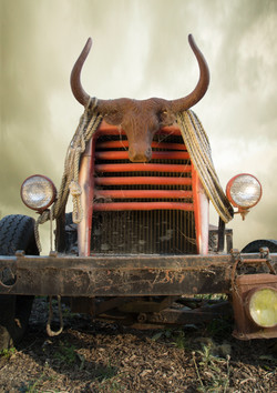 Ranch Truck with bull head