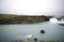 Gutifoss waterfall in summer-ICELAND