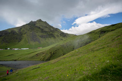 East of Iceland during summer