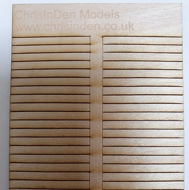 Plywood Sleepers 100 Pack 0.8mm