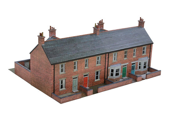 Laser Cut Parts for Scalescenes Terraced Houses