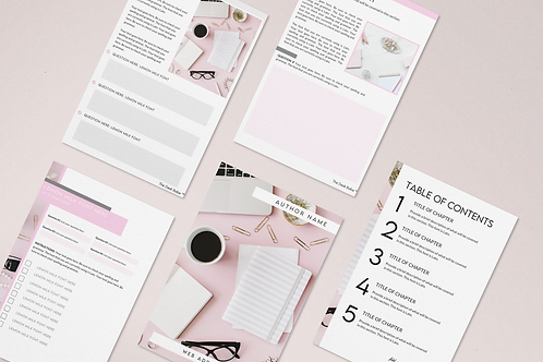 The Desk Babe ™ Pink Desk Worksheet