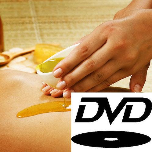 DVD - Massagem Com Óleo Para Dores Musculares