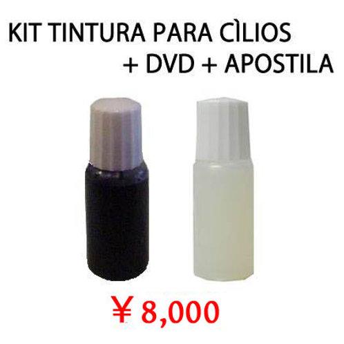 Kit para Tintura nos Cílios Elegante