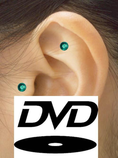 DVD - Auriculoterapia com Cristais