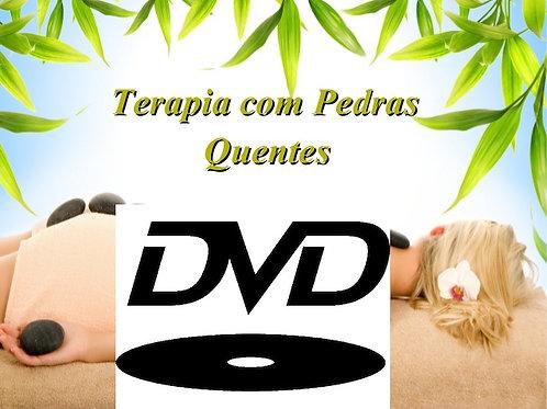 DVD - Massagem Relaxante com Pedras Quentes