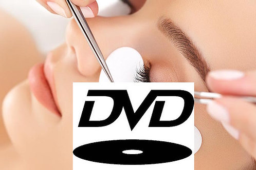 DVD - Alongamento nos Cílios