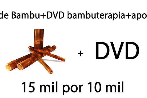 Kit Bambu + DVD Bambuterapia