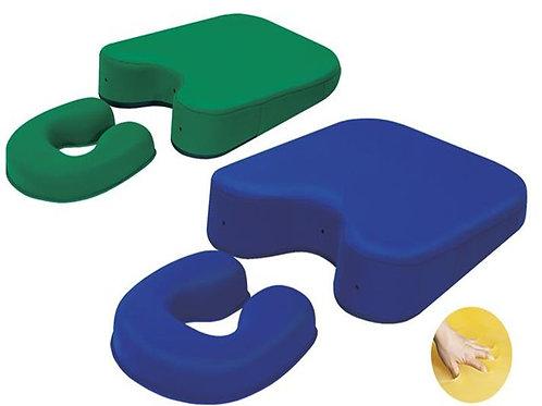 Kit de travesseiros em gel Peitoral e face