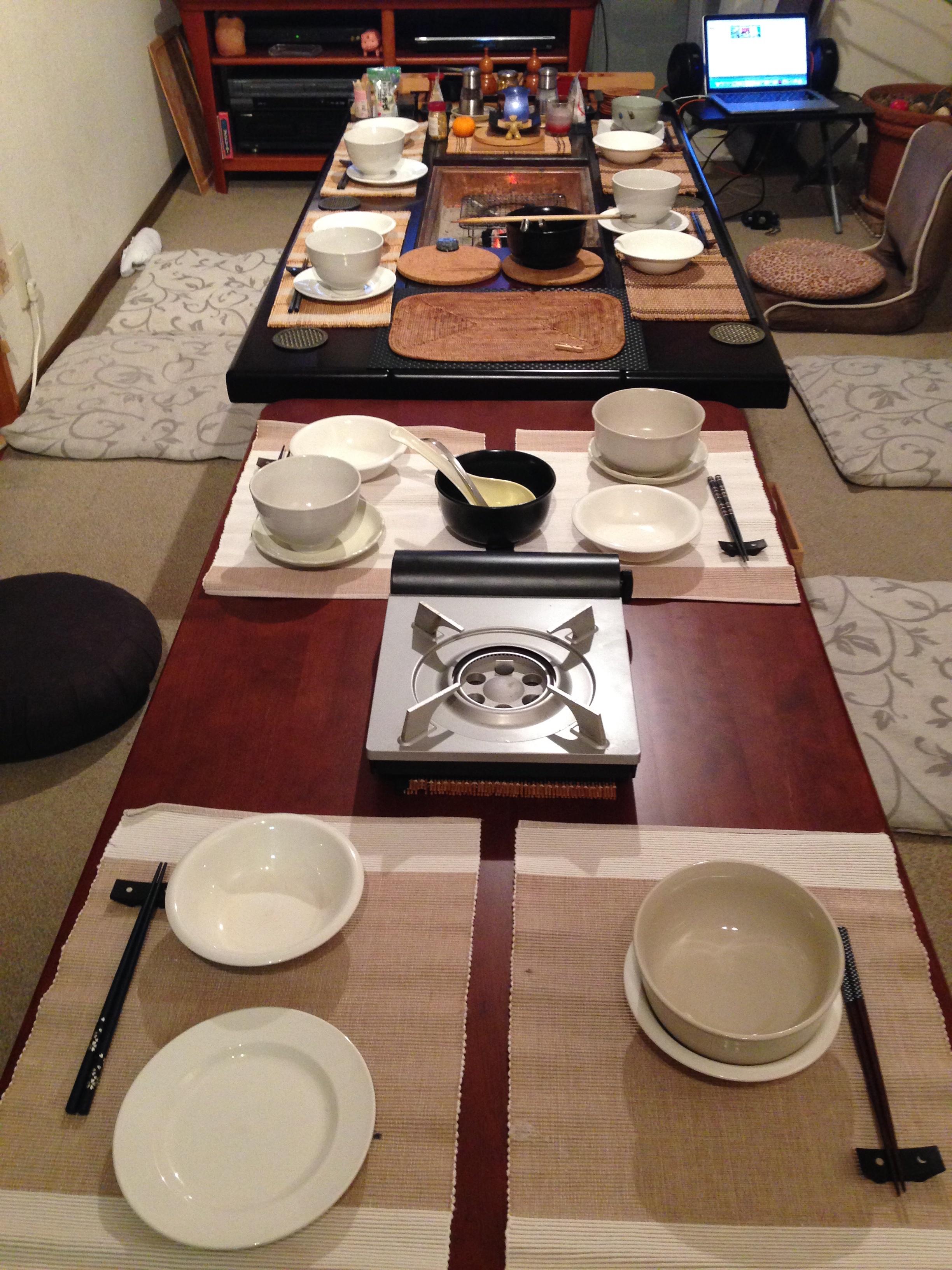 【倶楽部:和恒】食卓
