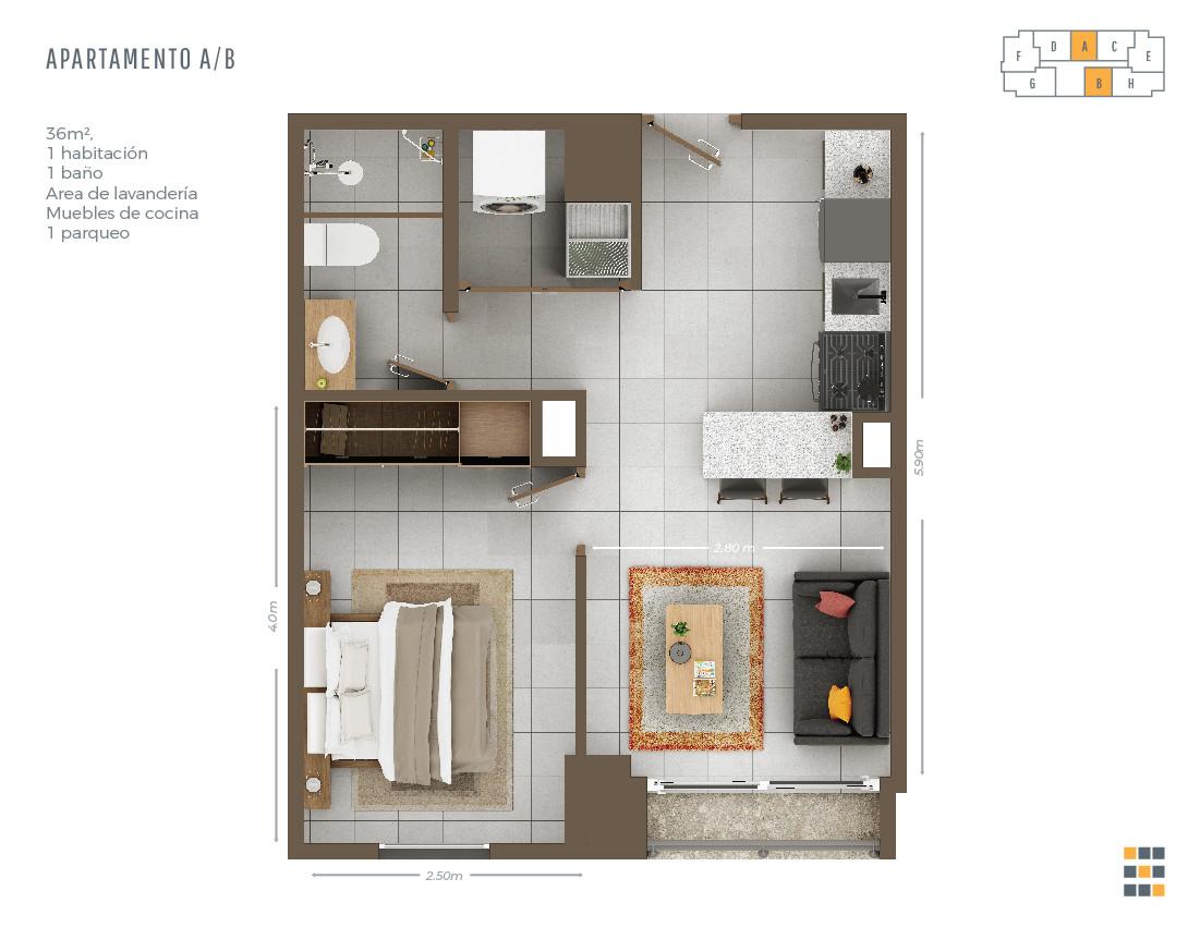 Casa Tres A/B