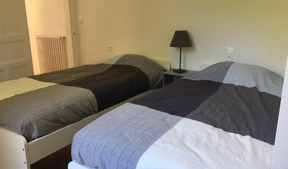 2ème chambre lits simples