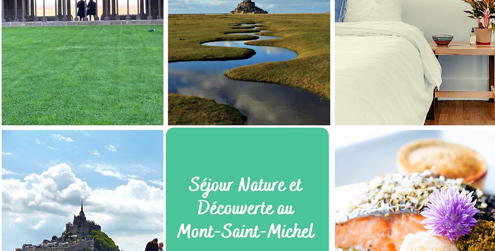 Séjour Nature et Découverte au Mont-Saint-Michel - 2j / 1 nuit - 2pers