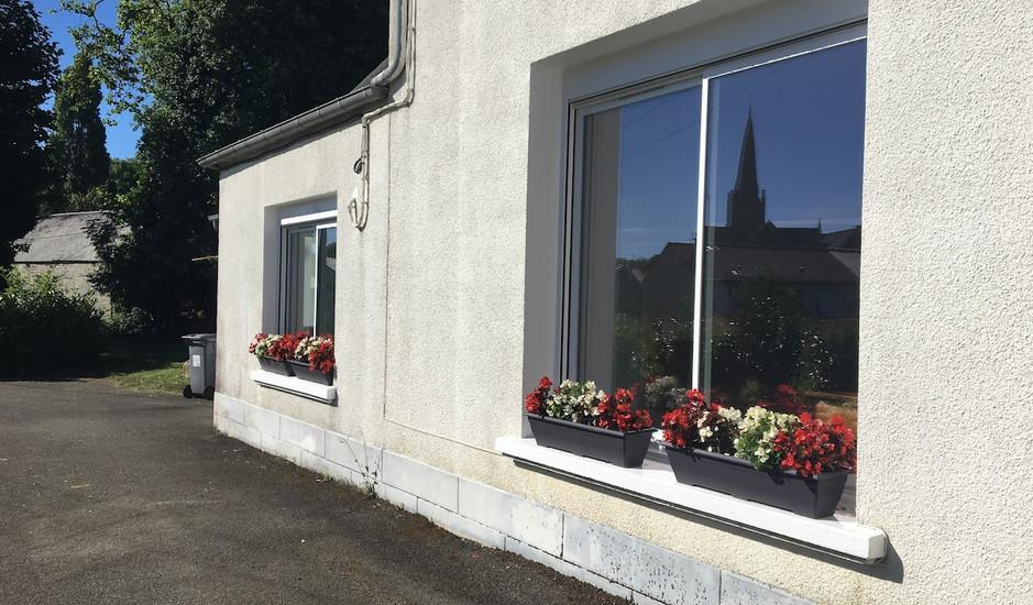fenêtres devanture
