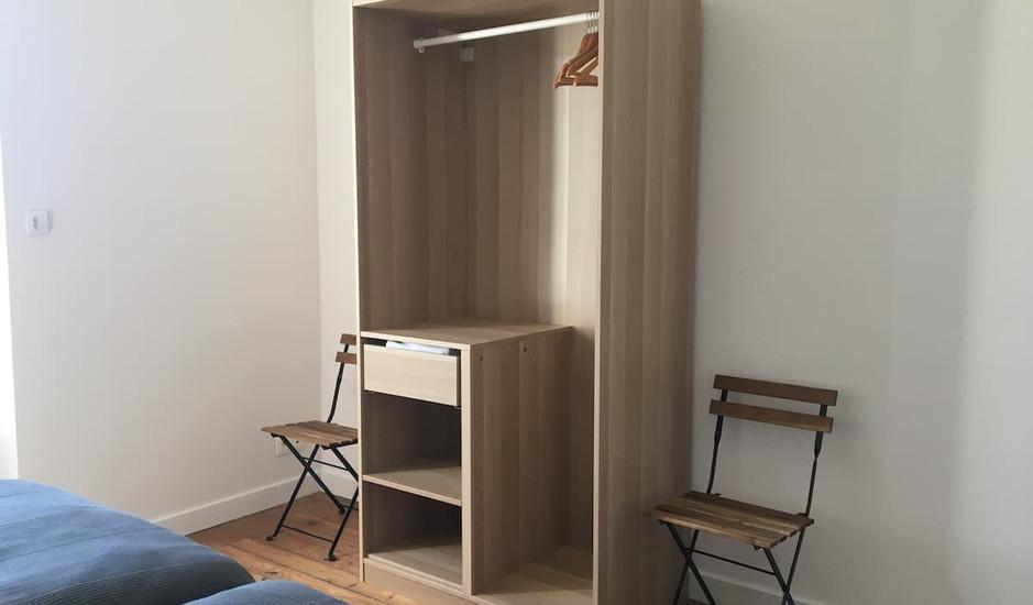 4ème chambre lits simples