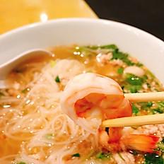 Bangkok Café Combo Noodle Soup (Tom Yum Noodle Soup)