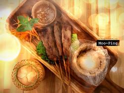 Moo - Ping (Grilled Pork Skewers)