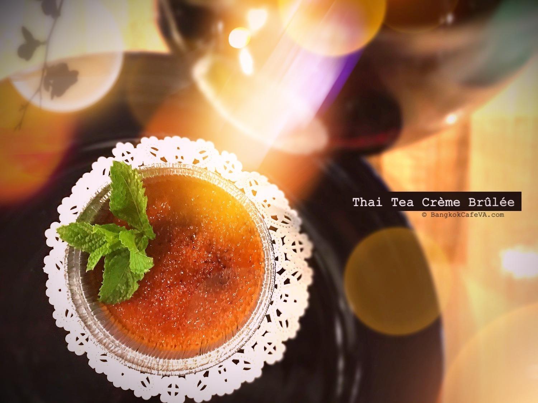 Thai Milk Tea Crème Brûlée