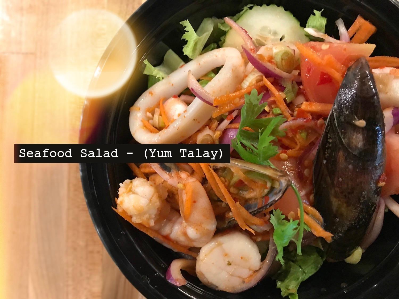Seafood Salad - (Yum Talay)